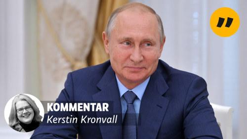 Putin vill traffa trump i finland