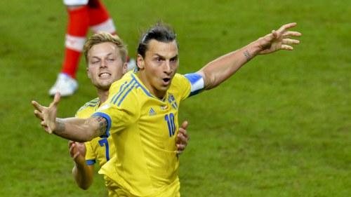 Ibrahimovic bakom ny seger