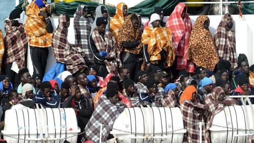 Medelhavet lockar migranter och flyktingar