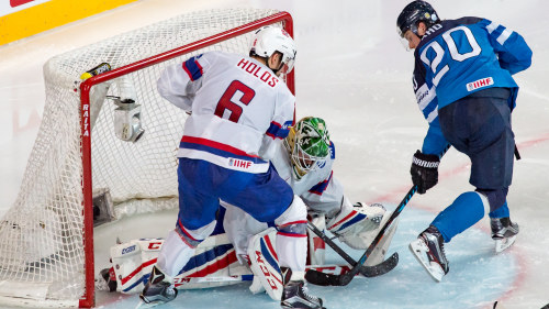 Ishockey svensk malvakt blev norsk