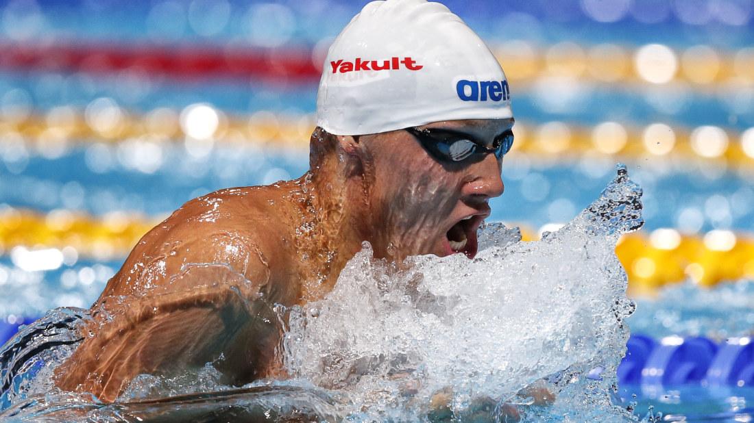 Dagens tävling: Hur klarar sig simmaren Matti Mattsson på huvuddistansen? | Sport | svenska.yle.fi