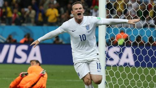 Wayne Rooney i VM 2014. Wayne Rooney blir ny lagkapten för ... 1bae12513f101