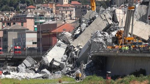 20 utreds efter brokatastrofen i genua
