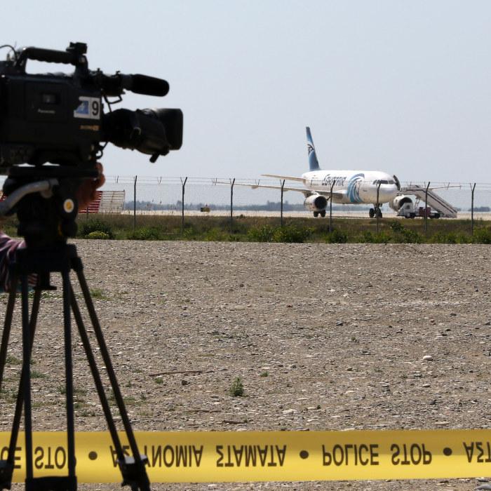 Karta Cypern Flygplats.Flygkapare Pa Cypern Misstanks Ha Personliga Motiv Utrikes