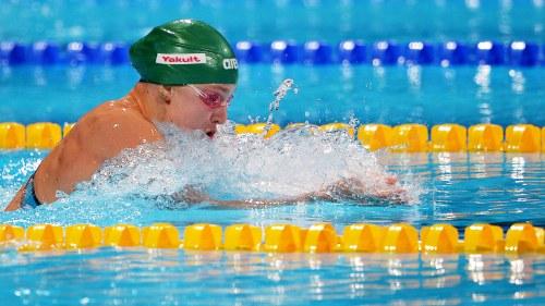 Simning varldsrekord
