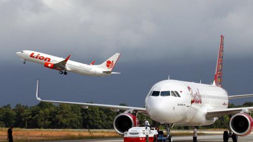 Januari ett lyft for flygbolagen