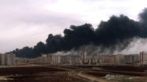 Syrien inget ljus i slutet pa tunneln