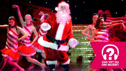 Svart Christmas sex scen