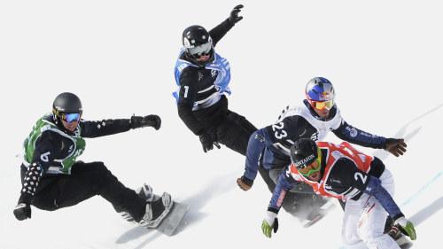 Norska allvarligt skadad i snowboard
