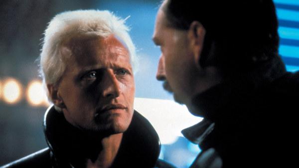 Rutger Hauer i filmen Blade Runner.