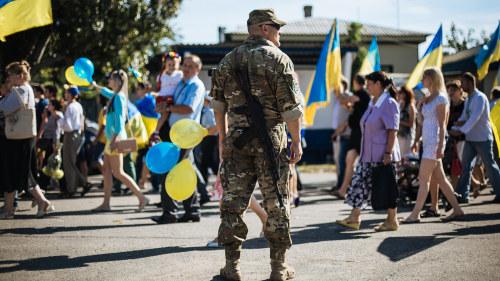 Ukraina befriar stad fran separatister
