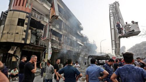 Blodig avslutning pa ramadan i irak