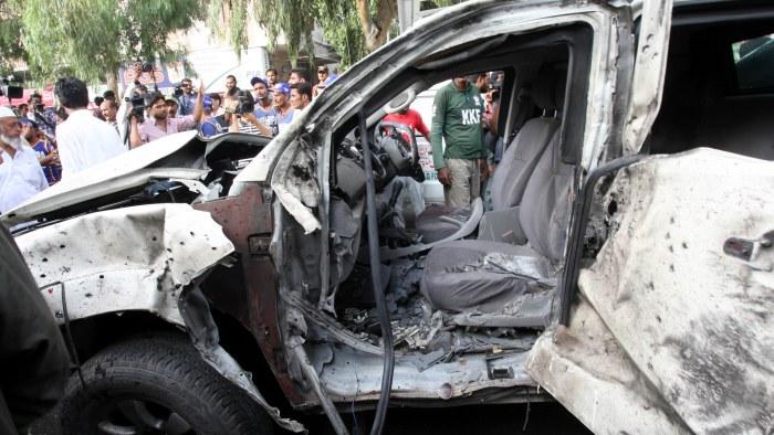 Bombattentat mot storbritanniens ambassad i yemen