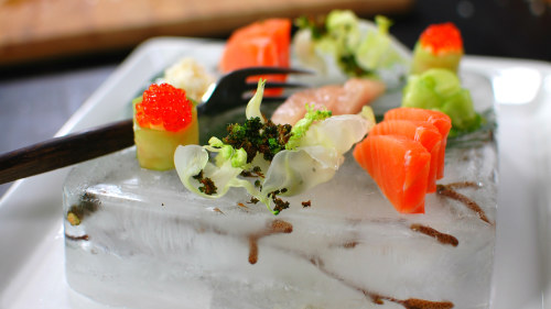 Japansk mat med nordiska ingredienser