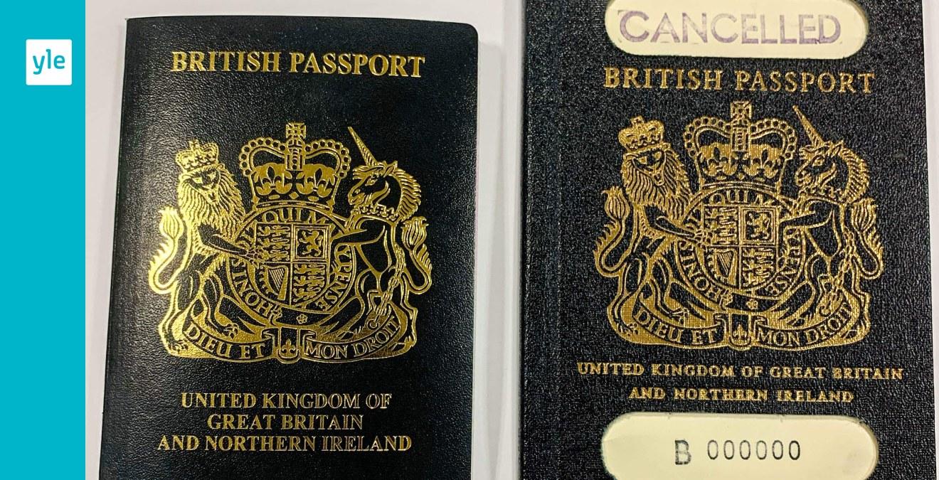 Storbritannien återinför sina egna blåa pass - symbolisk betydelse för många britter