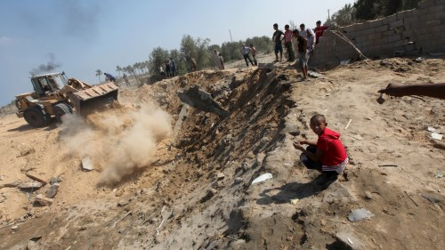 Ny israelisk attack i gaza