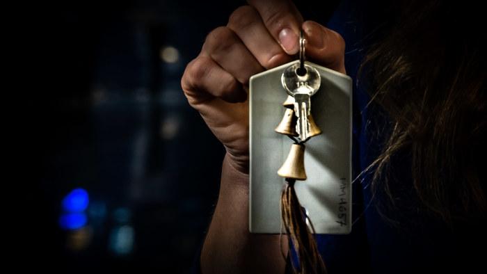 Estonias huvudnyckel förvaras i Tallinns marinmuseum