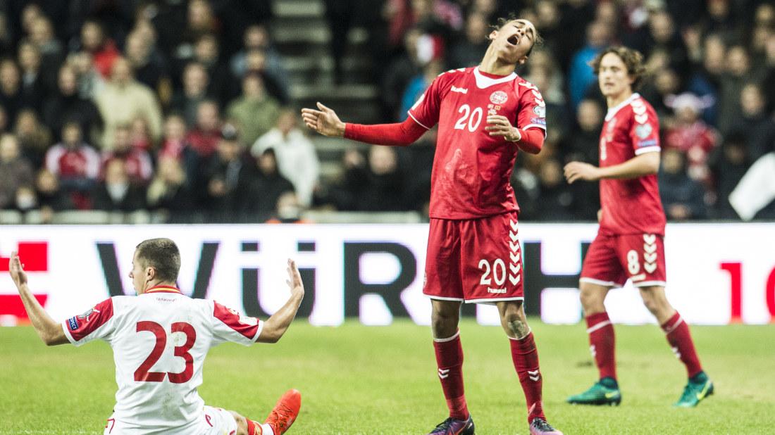 Danska stjarnan overlagsen vm vinnare