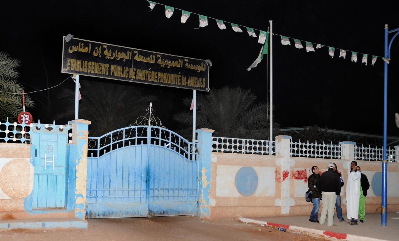Kidnappade turister i algeriet fria