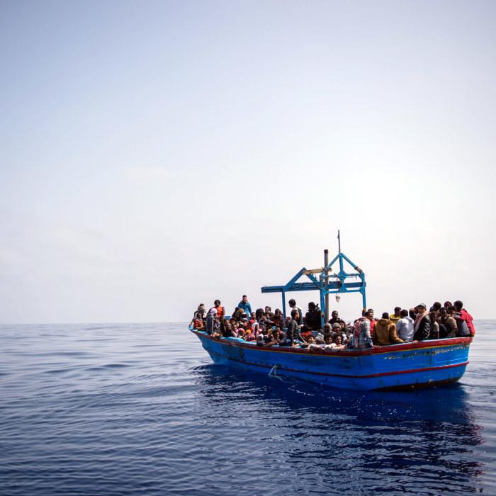 Flera migranter har drunknat utanfor lesbos