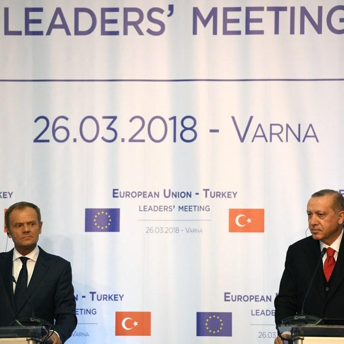 Turkiet ar inte moget for eu