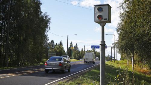 Trafiken minskade med 20 procent forsta dagen