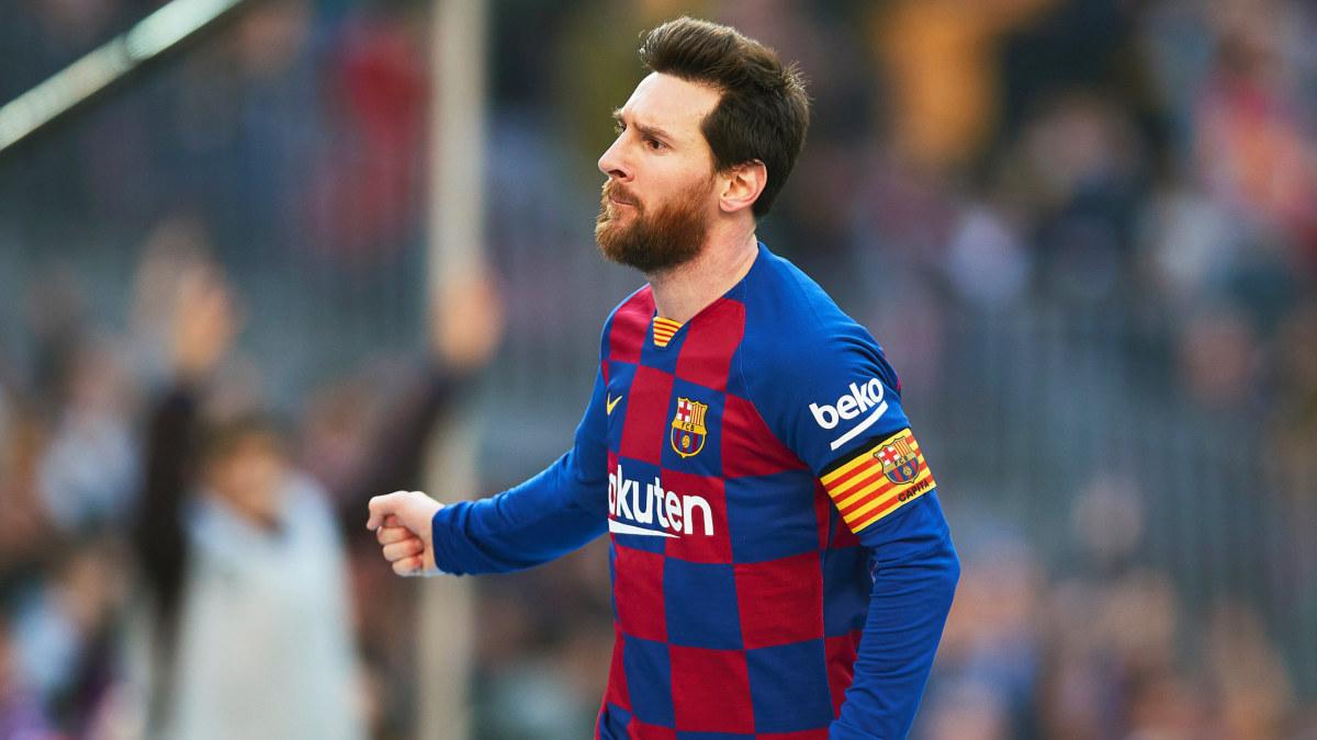 Lionel Messi bröt måltorkan med fyra mål mot Eibar – Niklas Moisanders Werder Bremen lyckades inte stoppa Erling ...