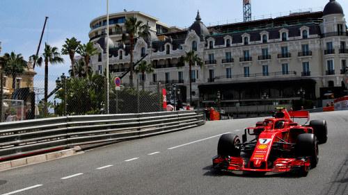 Monaco tog over serieledningen