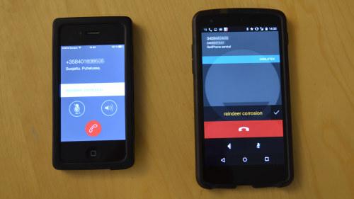 Sa enkelt avlyssnas din mobil