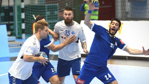 Tamminen Och Ronnberg Visade Vagen Da Landslaget Fick Sin Efterlangtade Revansch Det Finska Lejonet Visade Hur Man Spelar Handboll Sport Svenska Yle Fi