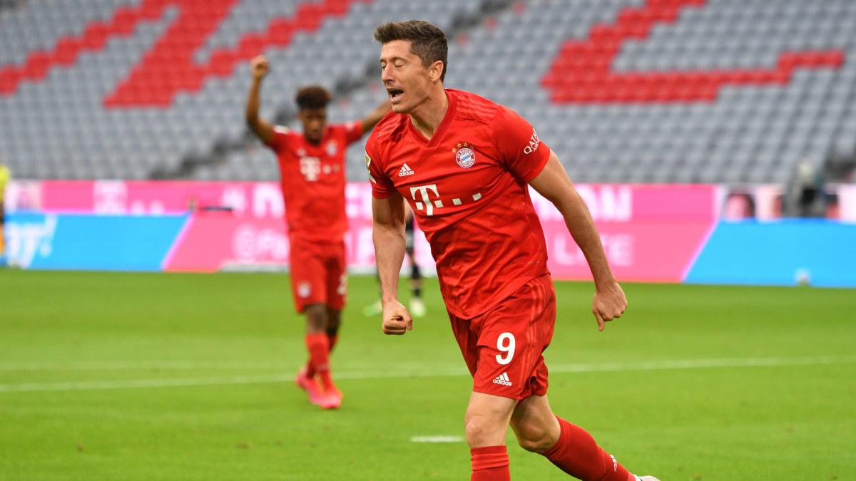 Robert Lewandowskis superform fortsätter – Bayern stod för utklassning