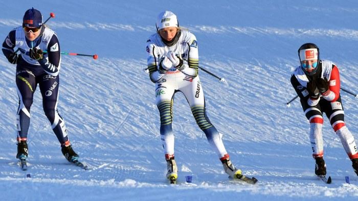 Frida Karlsson vann masstarten före Norges Helene Marie Fossesholm och Finlands Anita Korva.