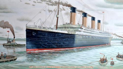 Var ligger batvarvet dar titanic byggdes