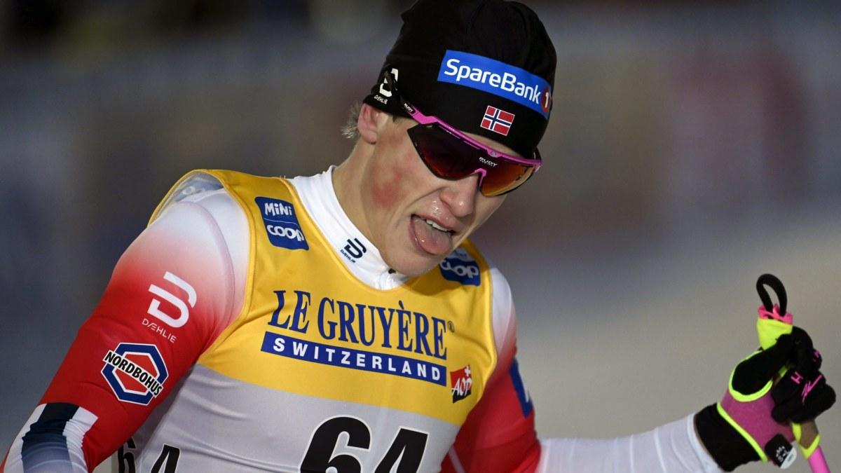 """Johannes Høsflot Klæbo överlägsen vinnare – förhandsfavoriten Iivo Niskanen kroknade på slutet: """"Jag åkte kanske för ..."""