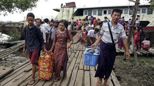 Flyktingmote burma bangladesh