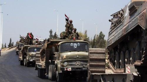Syriska regimen lovar stoppa valdet