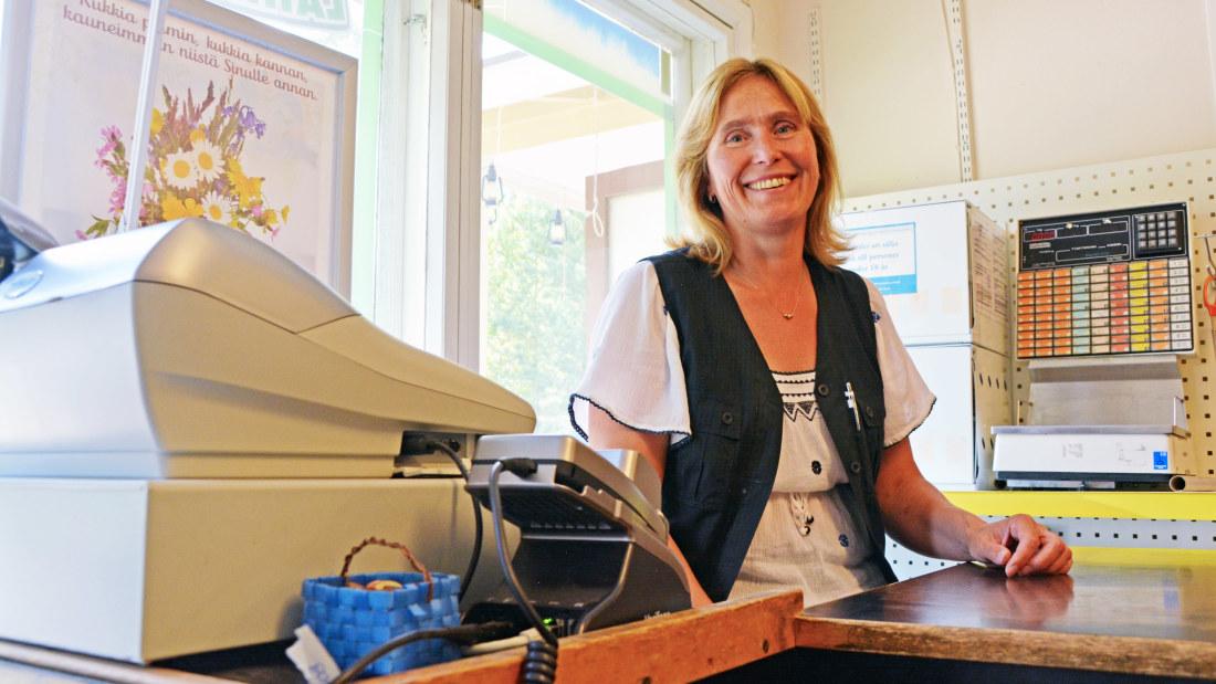 tjugo år Erika Grönqvist har haft bybutiken i Fagersta i tjugo år:
