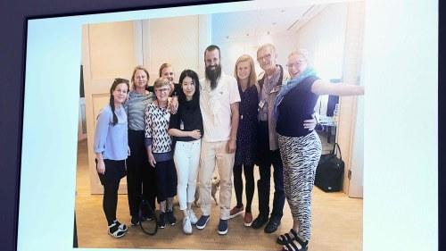 Kontakt med kidnappad svensk