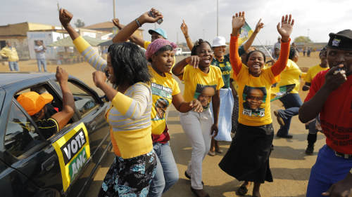 Anc mot seger i sydafrika