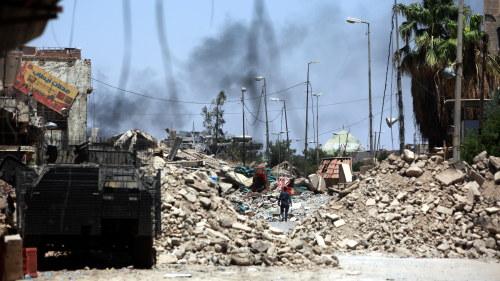 Blodiga strider i sodra irak