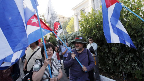 Kubanska aktivister infor ratta