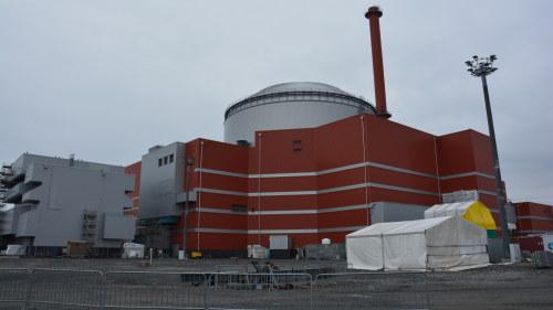 Skogsbrand stangde karnkraftverk