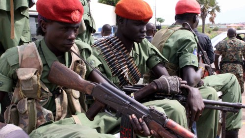 Sex hjalparbetare dodade i sydsudan