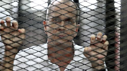 Journalisterna domda i egypten