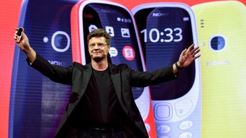Nokia presenterar ny telefon