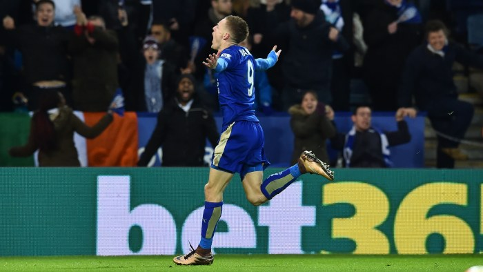 Leicester drygade ut serieledningen