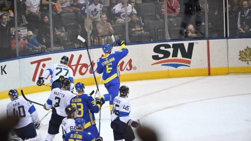 Lundqvist visar stralande os form