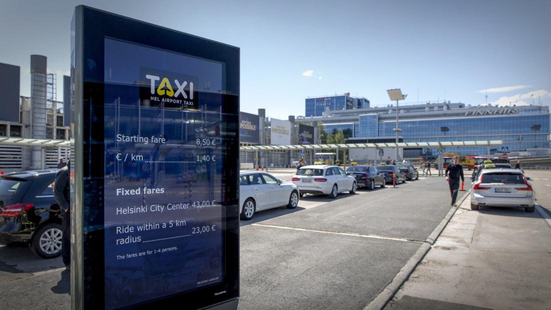 Taksitolppa Helsinki