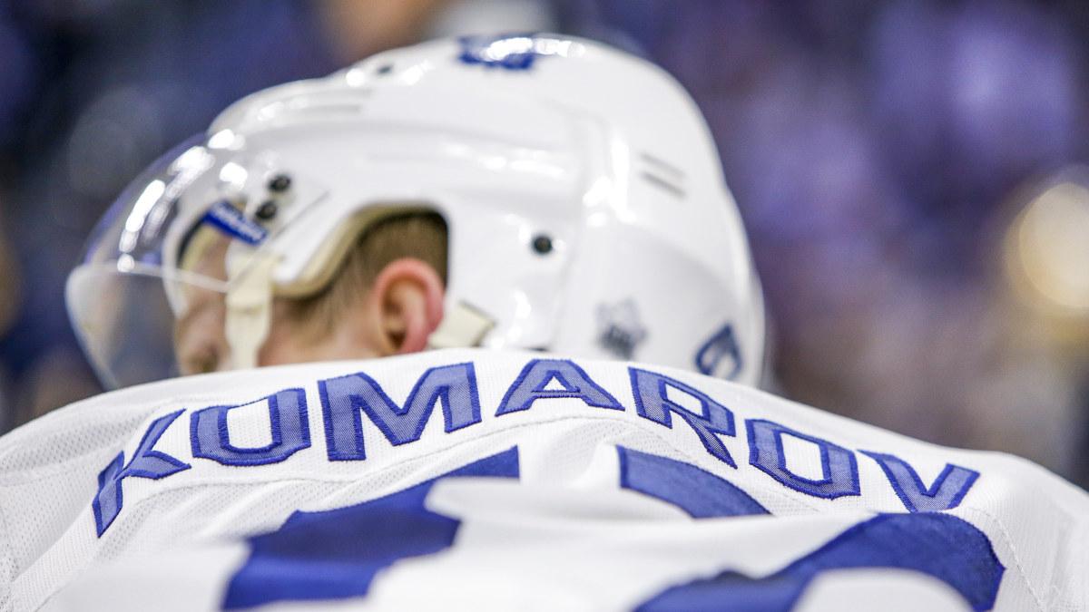 NHL förklarar reglerna  Gör inte som Leo Komarov  1ef9ff9a2f6c2