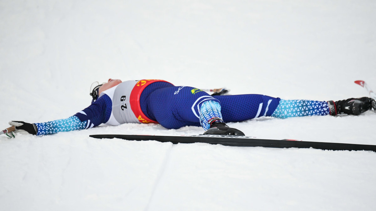 """Krista Pärmäkoski tar det säkra före det osäkra – men vill slutföra Ski Tour trots kollapsen: """"Har varit nära tidigare också"""""""